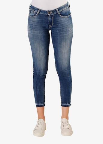 Le Temps Des Cerises Jeans 'PULPC' in Blauw