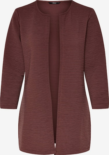 ONLY Cardigan en marron: Vue de face