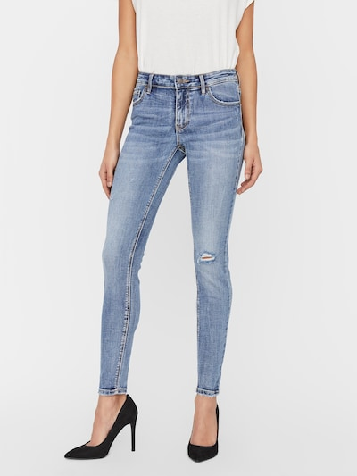 VERO MODA Jeans 'LYDIA' in Blue denim, View model