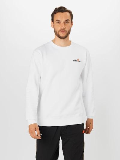 ELLESSE Sportsweatshirt 'Brufa' i hvid: Frontvisning