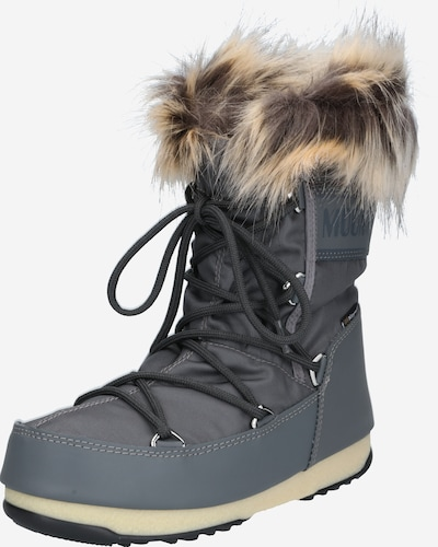 MOON BOOT Snow boots 'MONACO' in grey, Item view