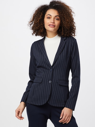 TOM TAILOR Blazer in navy / hellblau, Modelansicht