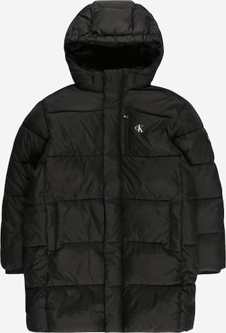 melns Calvin Klein Jeans Starpsezonu jaka