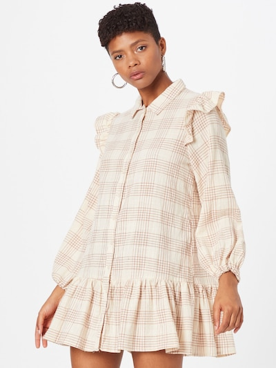 Cotton On Kleid 'MARNIE' in creme / hellbeige, Modelansicht