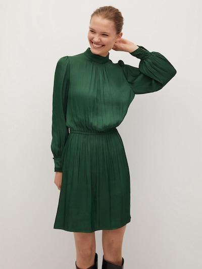 MANGO Kleid 'banana-i' in grün, Modelansicht