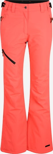 ICEPEAK Outdoor trousers 'CURLEW' in Coral / Black, Item view