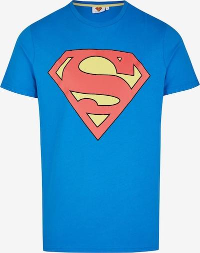 Course T-Shirt in blau / gelb / rot, Produktansicht