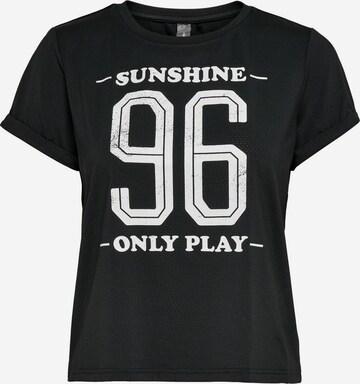ONLY PLAY Functioneel shirt in Zwart