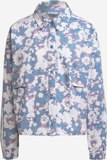 ADIDAS ORIGINALS Jacke in rauchblau / lila / weiß, Produktansicht