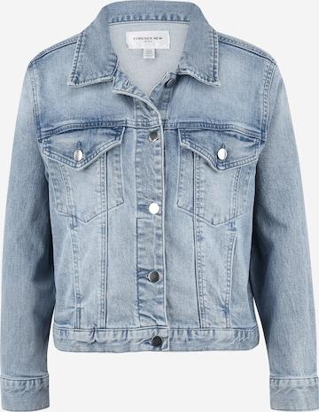 Forever New Petite Between-Season Jacket 'Hanna' in Blue