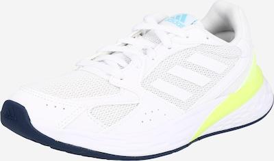 ADIDAS PERFORMANCE Chaussure de course 'RESPONSE RUN' en jaune / blanc, Vue avec produit