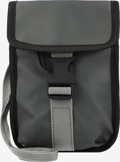 RAINS Umhängetasche 'Buckle' in anthrazit / schwarz, Produktansicht