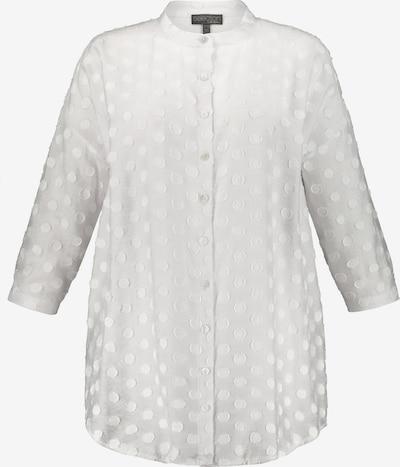Ulla Popken Blouse in de kleur Wit, Productweergave