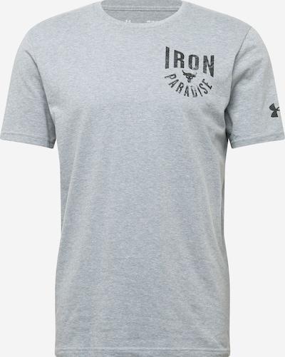 UNDER ARMOUR Functioneel shirt in de kleur Grijs / Zwart, Productweergave