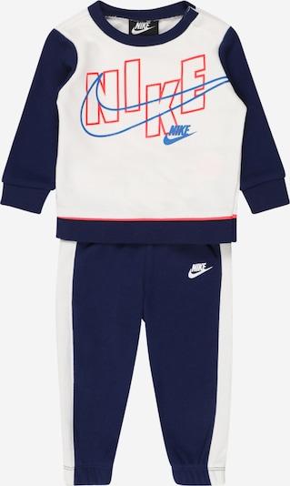 Nike Sportswear Strój do biegania w kolorze niebieski / granatowy / jasnoczerwony / białym, Podgląd produktu
