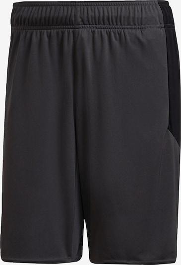 ADIDAS PERFORMANCE Sportbroek in de kleur Donkergrijs / Koraal / Zwart, Productweergave