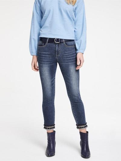 Jeans heine pe denim albastru, Vizualizare model