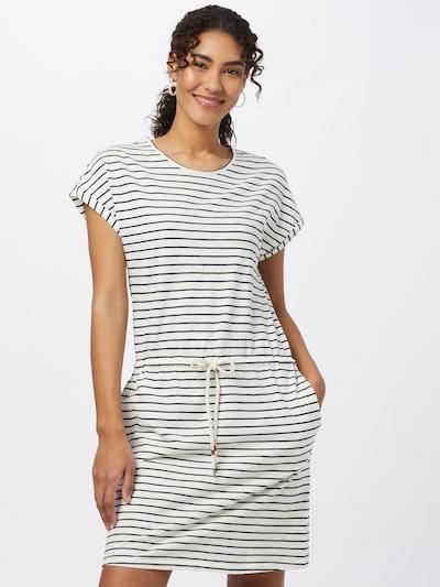 recolution Kleid in dunkelblau / weiß, Modelansicht