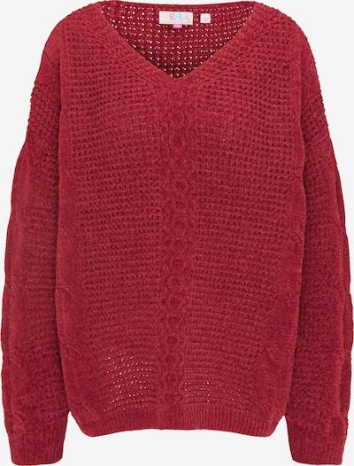 IZIA Oversized Sweater in Wine red, Item view