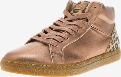 Camino71 Sneaker in hellbraun / gold / rosegold / schwarz, Produktansicht