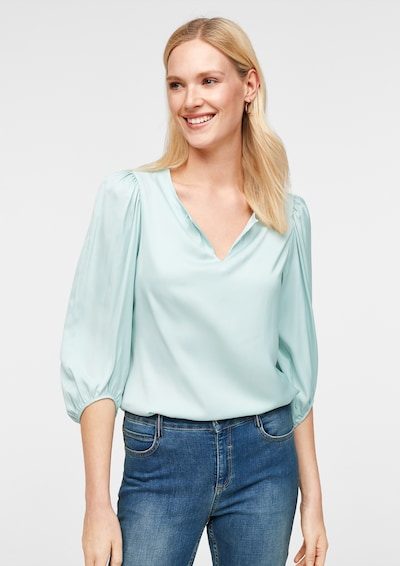 COMMA Bluse in mint, Modelansicht