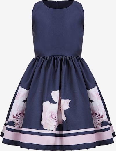 Gebriel Juno Kleid mit Rosenblüten-Print in blau, Produktansicht