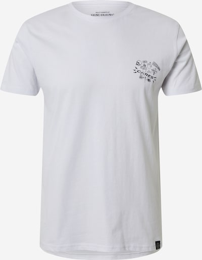 SHINE ORIGINAL Shirt in schwarz / weiß, Produktansicht
