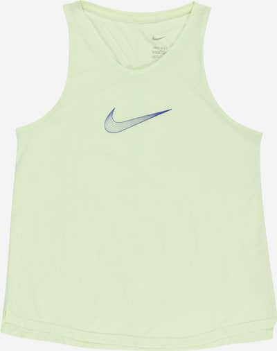 NIKE Sports Top in Blue / Pastel green, Item view