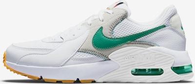 Nike Sportswear Sneakers 'Air Max Excee' in Dark green / White, Item view