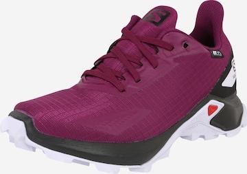 Pantofi 'ALPHACROSS' de la SALOMON pe mov
