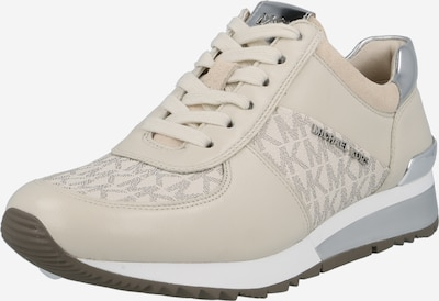 Sneaker low 'ALLIE' MICHAEL Michael Kors pe alb kitt / bej închis / roz pudră / argintiu, Vizualizare produs