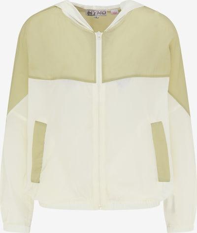 myMo ATHLSR Športna jakna | oliva / volneno bela barva, Prikaz izdelka
