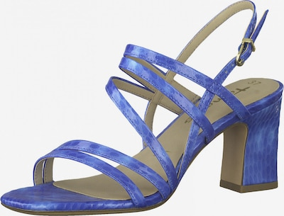 TAMARIS Sandale in royalblau, Produktansicht