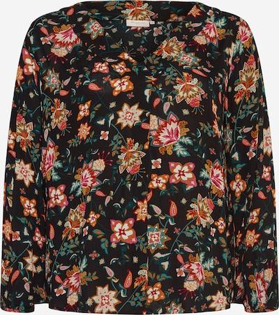 Bluză ONLY Carmakoma pe culori mixte / negru, Vizualizare produs
