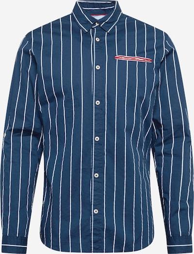 JACK & JONES Paita 'MARSEILLE' värissä tummansininen / valkoinen, Tuotenäkymä
