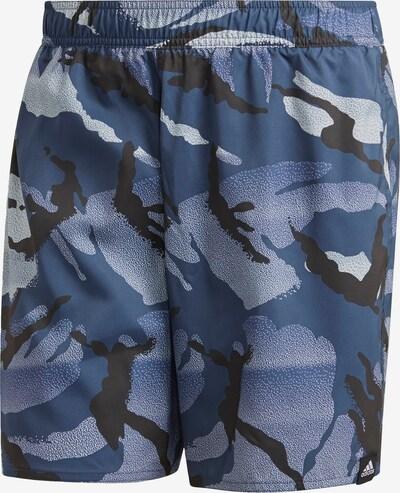 ADIDAS PERFORMANCE Badeshorts in blau / schwarz / weiß, Produktansicht