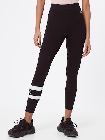 FILA Спортен панталон 'JACY' в черно / бяло: Изглед отпред