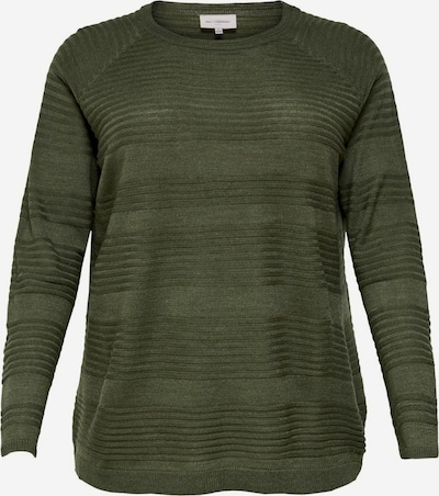 ONLY Carmakoma Pullover in grün, Produktansicht