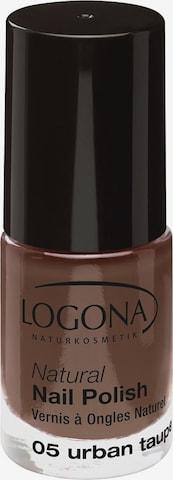 Logona Nail Polish 'Natural' in Grey