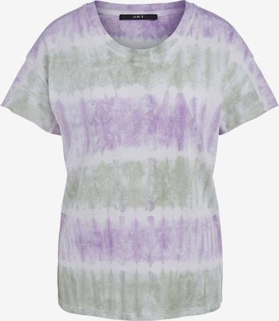 SET Shirt in de kleur Pastelgroen / Lila / Wit, Productweergave