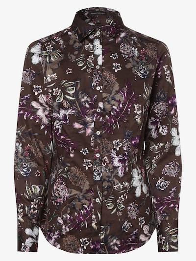 Franco Callegari Bluse in braun, Produktansicht