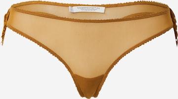 Underprotection Stringid 'Freya', värv pruun
