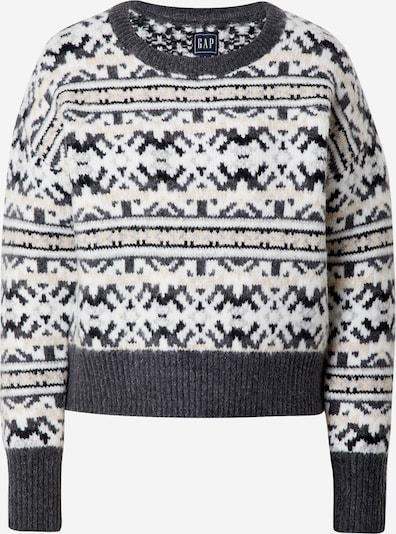 Megztinis iš GAP , spalva - smėlio / tamsiai pilka: Vaizdas iš priekio