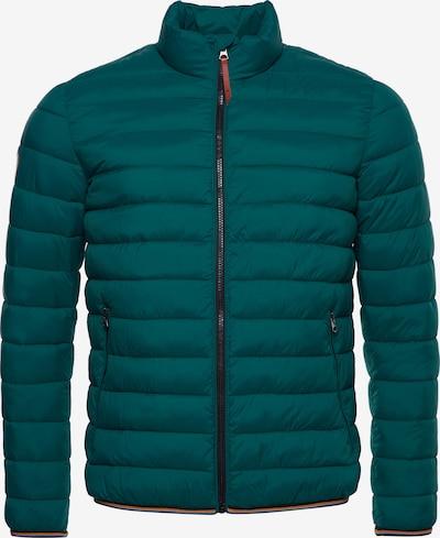 Superdry Tussenjas in de kleur Smaragd, Productweergave