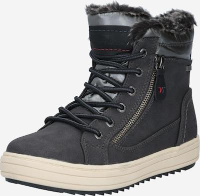 TOM TAILOR Škornji za v sneg | siva barva, Prikaz izdelka