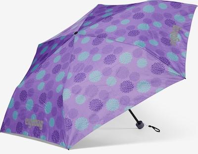 ergobag Regenschirm in blau / lila, Produktansicht