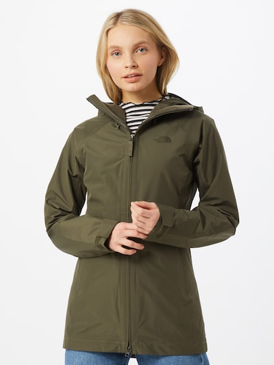 THE NORTH FACE Jacke in khaki: Frontalansicht