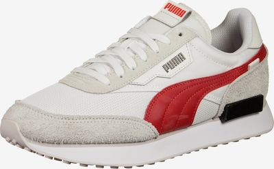 PUMA Sneakers laag 'Future Rider' in de kleur Taupe / Rood / Wit, Productweergave
