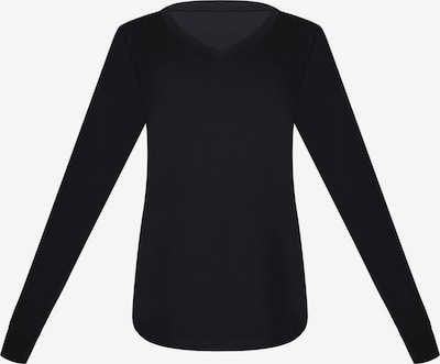 sassa Shirt 'FLOWERY ASPECT' in schwarz, Produktansicht