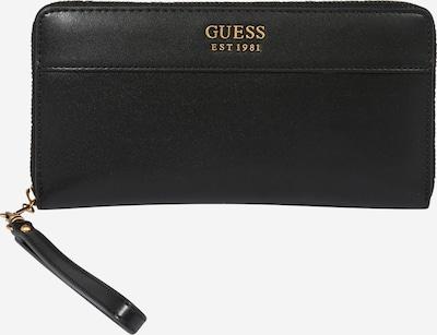 GUESS Portemonnaie 'KATEY' in gold / schwarz, Produktansicht